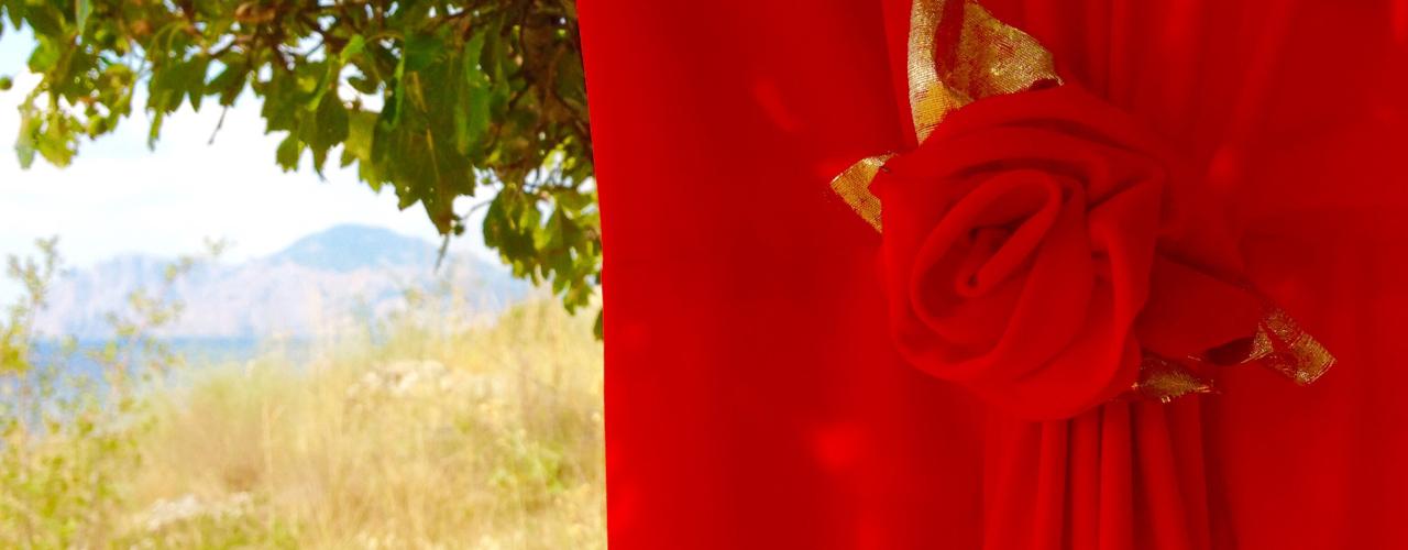 слайдер коралловая роза